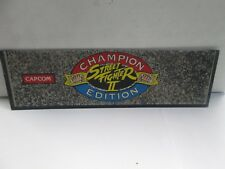 Capcom Champion Edition Street fighter II Arcade Marquee
