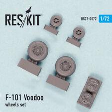 Reskit 1/72 McDonnell F-101 (B) Voodoo Wheels for Revell/Hasegawa/Valom kits