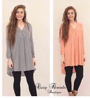 NEW Boutique She + Sky LACE DETAIL Dress - 3 Colors - Size S, M, L