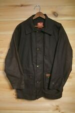 R.M Williams Waxed Relaxed Fit Jacket Coat Medium Brown