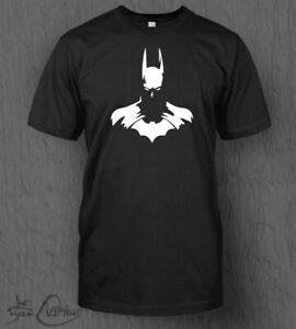 Batman Bust T-Shirt MEN'S Marvel DC Comics Dark Knight The Joker Batman Top Tee