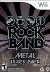 Rock Band: Metal Track Pack (Nintendo Wii, 2009) - Brand New - FACTORY SEALED!!