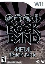 Nintendo Wii : Rock Band: Metal Track Pack VideoGames