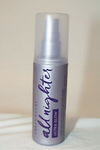 NEW Urban Decay All Nighter Ultra Glow Makeup Setting Spray 4 fl oz USA