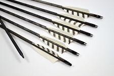 10 Holzpfeile Langbogenpfeile Bogenpfeile traditionell Pfeile für Bogen Kiefer