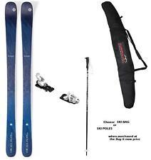 Blizzard Black Pearl 88 snow skis 145cm w-Bin (+POLESorBAG at BuyItNow) New 2020
