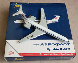 Gemini Jets IL-62 Aeroflot CCCP-86485 Official Olympic Carrier in 1:400