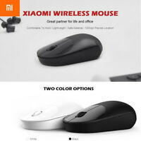 Xiaomi Wireless Mouse Youth Version 1200dpi For Computer Laptop Black White