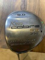KING COBRA SS350 LH Driver 9.0 Grafalloy Blue Graphite Reg Flex Shaft
