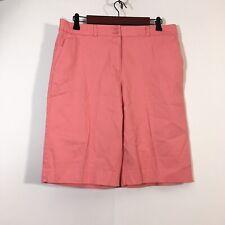 PENDLETON Shorts Women Size 12 Pink Bermuda