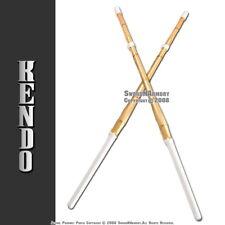 """Set of 2 47"""" Kendo Shinai Bamboo Practice Swords Katana"""