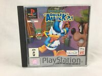 Disney's Donald Duck Quack Attack - With Manual - PS1 Playstation 1 - PAL