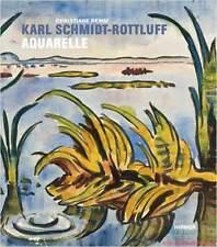 Fachbuch Karl Schmidt-Rottluff Aquarelle und ihr geschichtlicher Hintergrund NEU