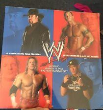 WWE 2006 Wall Calender World Wrestling Entertainment Edge Triple H Batista