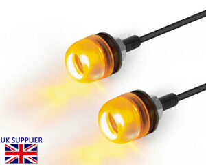 Motorbike LED Indicators Micro Mini Turn Signals Blinkers Cafe Racer Project