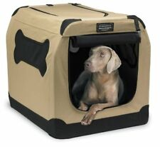 """Portable Dog Crate XXL Soft Travel Carrier Cage Pet Large Train 36""""up to 70 lbs"""
