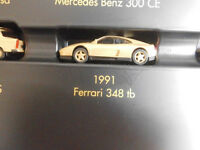 Herpa 1991 FERRARI 348 TB in oro metallizzato 1:87  NUOVO