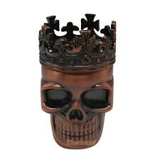 King Skull Herbal Herb Bullet Shape Tobacco Grinder Crushe Hand Smoke Grinders