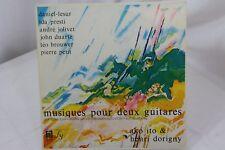 "Ako Ito & Henri Dorigny Musiques Pour Deux Guitares 33rpm 12"" Vinyl Record"