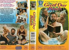 THE GREAT DAY ON THE BEACH -VHS - PAL -NEW - Never played! - Original Oz release