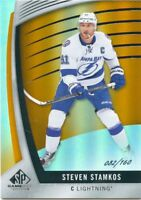 17/18 SP GAME-USED ORANGE #45 STEVEN STAMKOS 082/160 LIGHTNING *49540