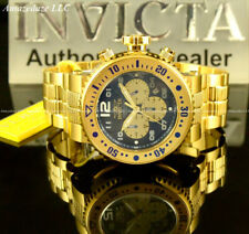 NEW Invicta Men 52mm Pro Diver VD53 Chronograph Blue Dial Stainless Steel Watch