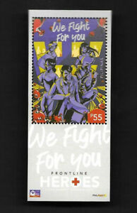 Philippines 2020-T11 Pandemic Special Issue Stamp China Fight Virus 新冠病毒 特11