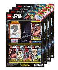 LEGO Star Wars - Serie 1 Trading Cards - Alle 4 verschiedene Multipacks - Deutsc