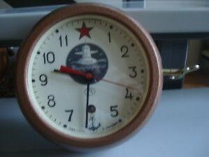Rare russian navy submarine wall clock VOSTOK
