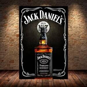 JACK DANIELS Metal Sign Mancave Retro Whiskey Bar Sign JD pub beer garden home