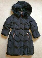 New Ted Baker Girls Black Longline Down Coat/ Jacket Age 10 Years