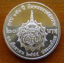20 Baht Thailand 150 Ann. King's Grand Mother 2012 Nr. 54