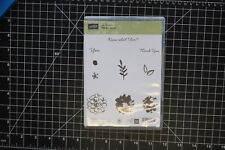 Stampin Up Stamp Set! Clear Mount New Retired What I Love