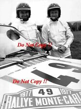 Vaclav blahna & Lubislav hlavka Skoda 130 RS Monte Carlo Rally 1977 fotografía 1