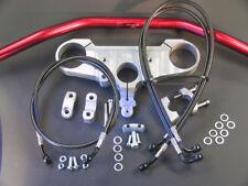 LSL Superbike Lenker Umbau - Kit für DUCATI 748 - 916 - 996 - 998 silber