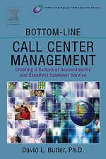 LK NEW Bottom-Line Call Center Management Creating a Culture of Accountability