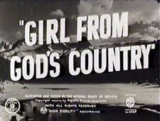 GIRL FROM GOD'S COUNTRY  1940  Chester Morris,Jane Wyatt  region free dvd