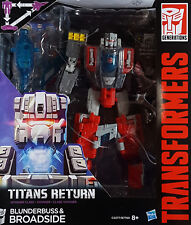 HASBRO® C0277 Transformers Generations Voyager Class Broadside & Blunderbuss