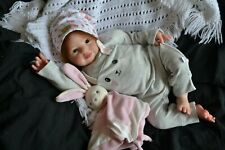 Cute Reborn Baby GIRL Doll OLIVIA was Holly by Donna RuBert COMPLETED