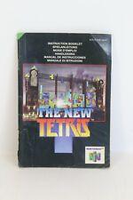 The New Tetris Manual Nintendo 64 NUS-P-NRIP-NEU6