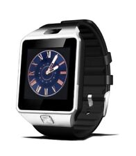 DZ09 Smart Watch Bluetooth TouchScreen For Android IOS (Silver Black)