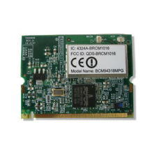 Broadcom interne mini PCI Sans Fil WIFI b/g 54 Mbps Carte Pour DELL portable Toshiba