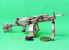 MK46_D MK46 Mod 0 Figure Rifle Stock Camouflage M249 Light Machine Gun Model 1:6