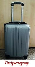 TROLLEY VALIGIA ABS CABINA BAGAGLIO A MANO RYANAIR EASY JET 4 RUOTE LOW COST