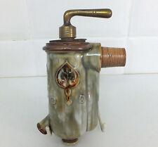Doulton Lambeth Art Nouveau stoneware licquer spigot