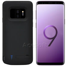 6000mAh External Backup Battery Charger Case Cover for Samsung Galaxy S9 Plus