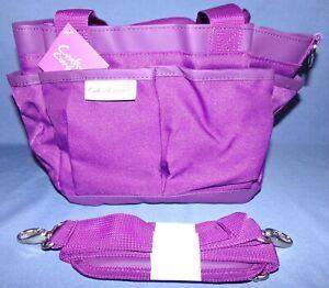 Gemini GO Mini Tote Bag with Shoulder Strap Purple New by Crafters Companion