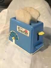 Vintage Plastic Kiddy Matic Toaster Play Doll