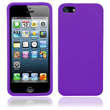 SUPER SOFT SILICONE RUBBER CASE COVER SKIN PROTECTOR GEL BLACK FOR IPHONE 6 PLUS