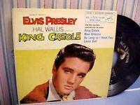 Elvis Presley - King Creole Vol. 1 - EX VINYL & EX PIC SLEEVE & GREAT AUDIO